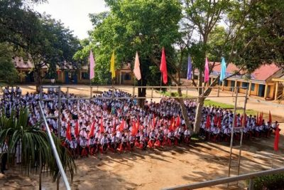 Trường THCS Phan Đình Phùng phấn khởi ngày khai giảng năm học 2017-2018