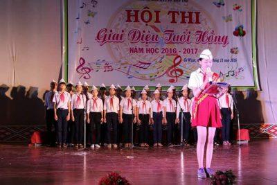Trường THCS Phan Đình Phùng tham dự hội thi Giai Điệu Tuổi Hồng cấp huyện năm học 2016-2017